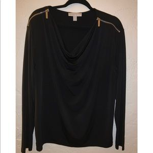 little black ... MK shirt
